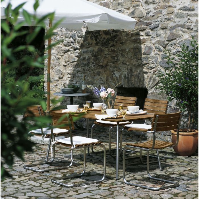 Thonet s 1040 outdoor tisch selig wohndesign for Outdoor tisch design