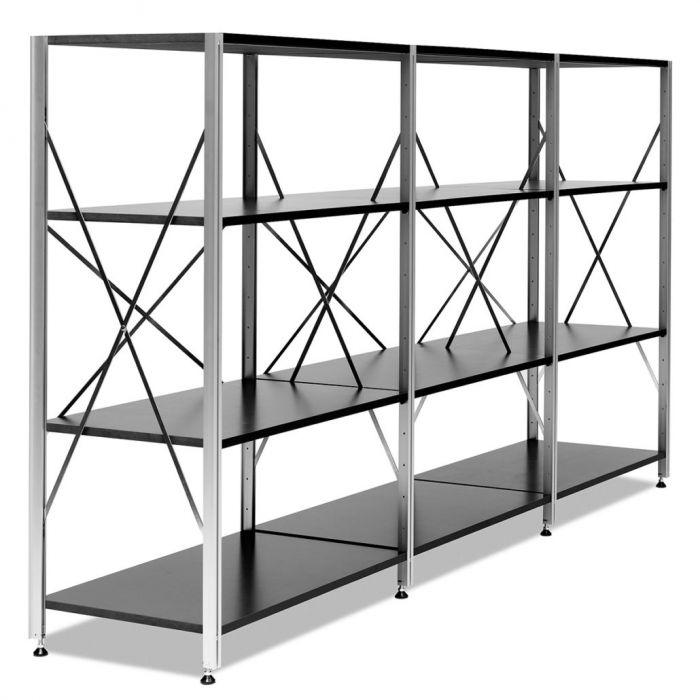 thut 344 system regal selig wohndesign. Black Bedroom Furniture Sets. Home Design Ideas