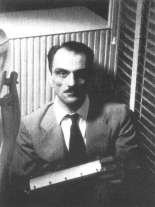 Carlo Mollino Selbstportrait Arabesco